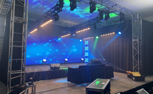 Virtual Event Stage AMP'D Spokane